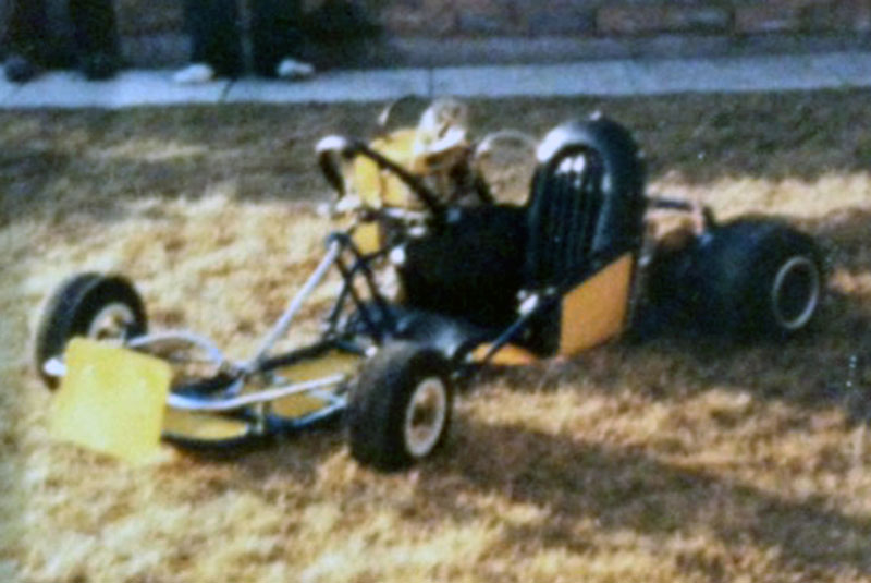 Lon Herder's  second or third Kart circa 1978