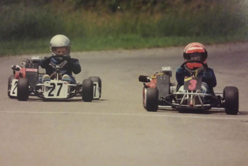 Pearce first Awesome Kart