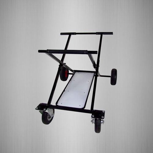 Black Go Kart Stand