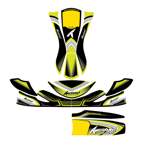 2021 Awesome Kart Decals