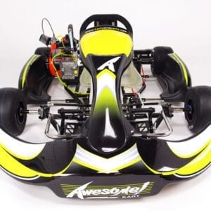 Front of MG Awesome Kart Chassis